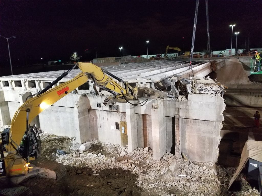 industrial demolition contractors