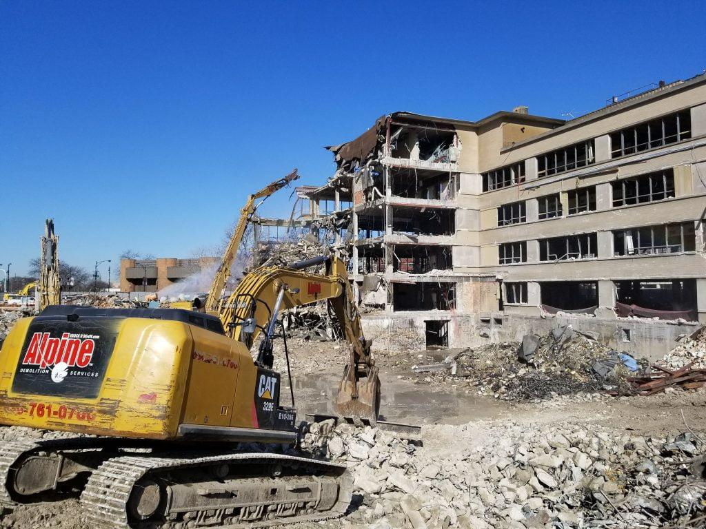 commercial building demolition