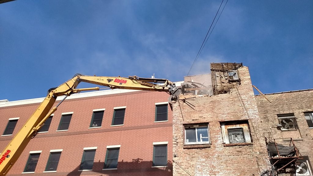 tight quarters demolition - wayside ministries demolition