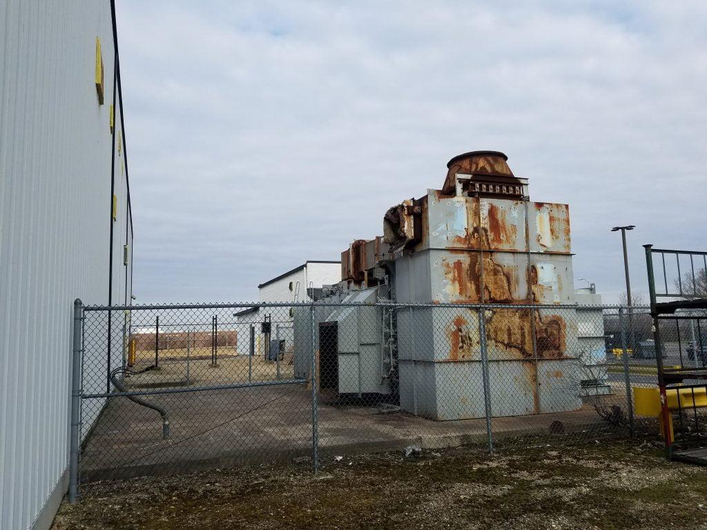 active plant demolition project