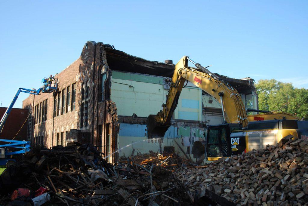 school demolition