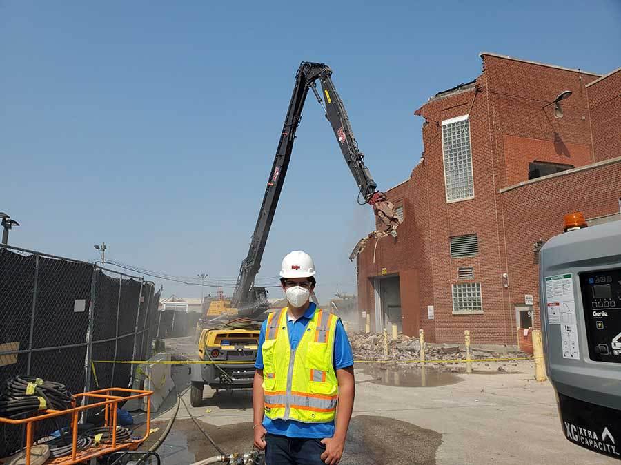 planning for demolition